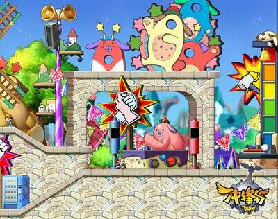 《冲锋岛》游乐园小游戏任你玩
