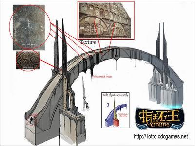 指环王ol精美原画 恢弘建筑的设计过程