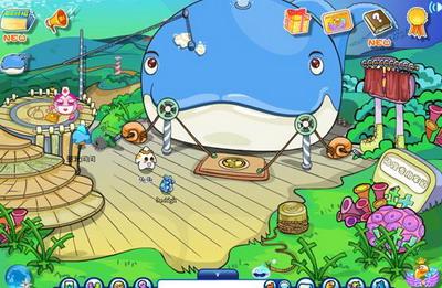 海底世界club fish青少年虚拟世界是酷噜网络开发的中国第一款