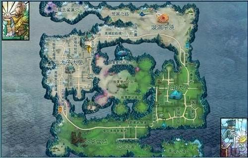寻仙东山岛地图