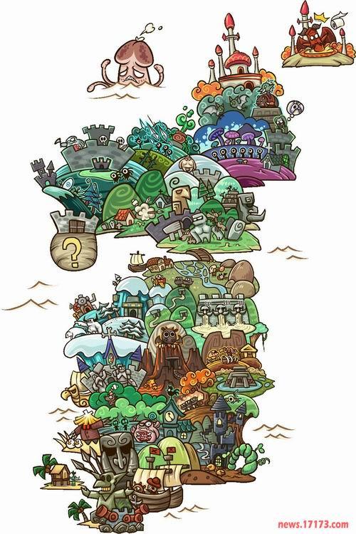 魔兽一周囧闻:神级魔兽玩家 我们毕业了  三,卡通版东部王国地图