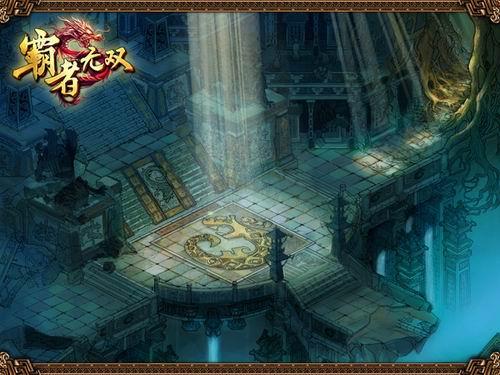 《霸者无双》游戏场景:秦始皇陵