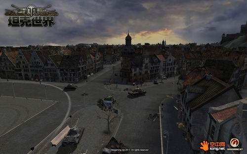基于bigworld引擎和众多3d制作技术,《坦克世界》的超长视野距离与图片
