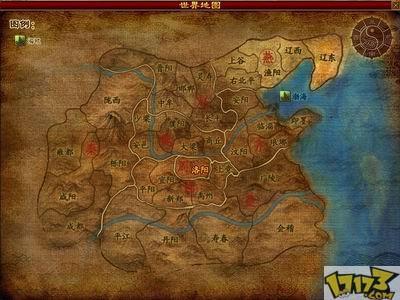 古风游戏地图素材