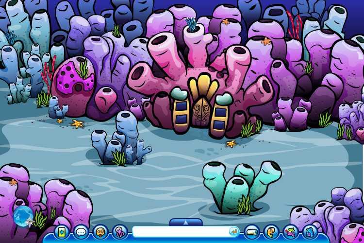 图片标题: 海底世界场景