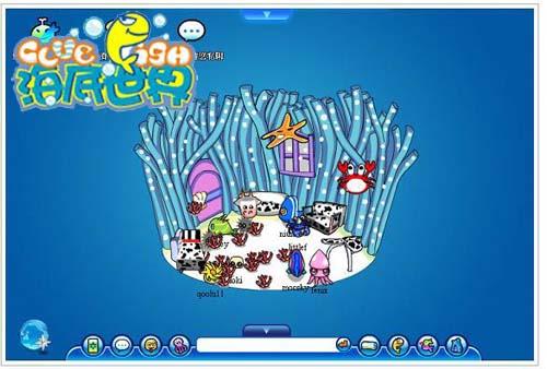《海底世界》与网页游戏的异同点